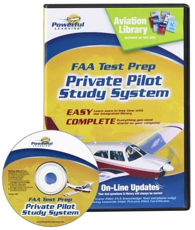Test prep software at Aircraft Spruce