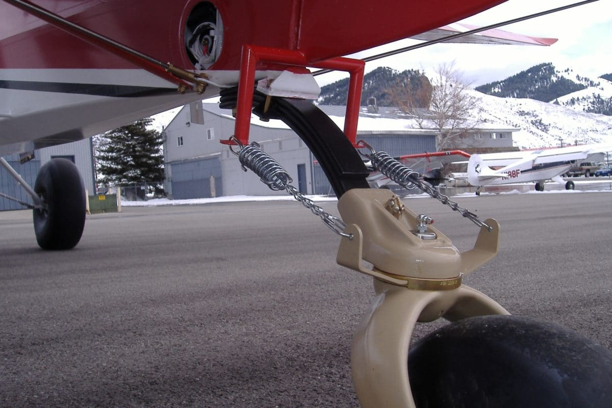 FAA approves new tailwheel for Husky