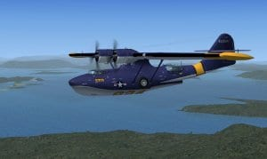 PBY-5A Catalina available for FSX downloads