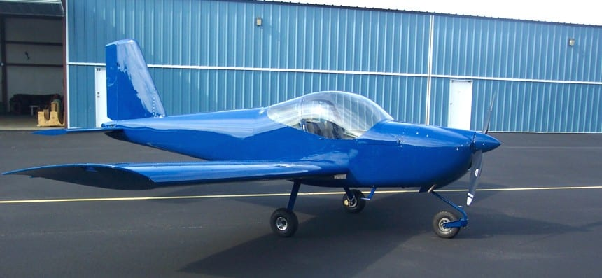 Van's RV-12 earns S-LSA certification
