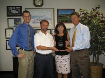 Aircraft Spruce & Specialty Co, received the Platinum Award for achieving the highest sales performance among Garmin International distributors. Aircraft Spruce has received similar awards from Garmin for elite performance over the past ten years, always ranking among the top distributors for Garmin aviation products worldwide.