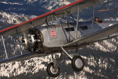 Flying the Boeing 40C