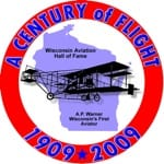 Wis Centennial of Flight Logo_WAHF_300 2