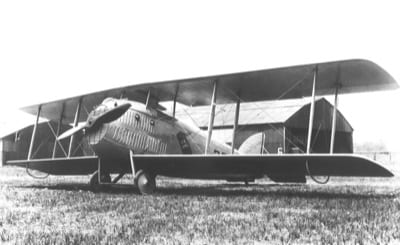 This unusual chunky-looking ship was a conversion of a Curtiss fighter powered by a 12-cylinder Liberty engine. Three were obtained by the Post Office.