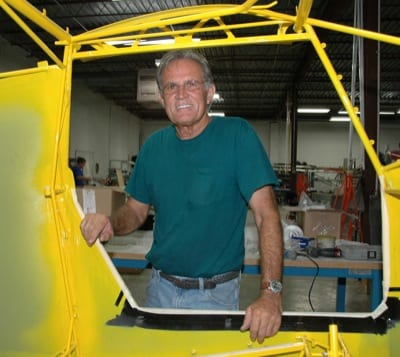 Robert Stephens is a retired Delta Airlines pilot who built his Highlander at the Just Aircraft factory.