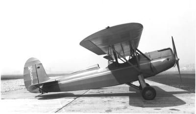 The Fairchild 22 in its many variations was the most successful of the parasols. It was available with many of the popular engines of the time, including the Cirrus, Menasco, Warner and, pictured here, the C7D with the Wright Gipsy.