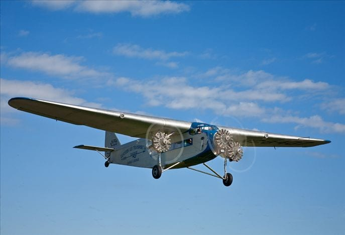 Ford Tri Motor wings its way to Columbia, S.C.