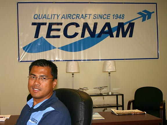 And then Tecnam came to town…