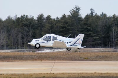 See the flying car in action