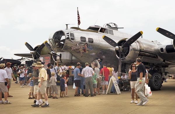 Avfuel teams with Yankee Air Museum's B-17 at Oshkosh