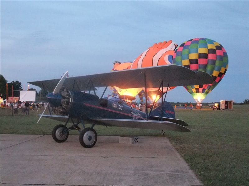 Flying Circus takes off