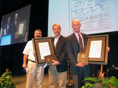 'Miracle on the Hudson' commemorative chart presented to pilots