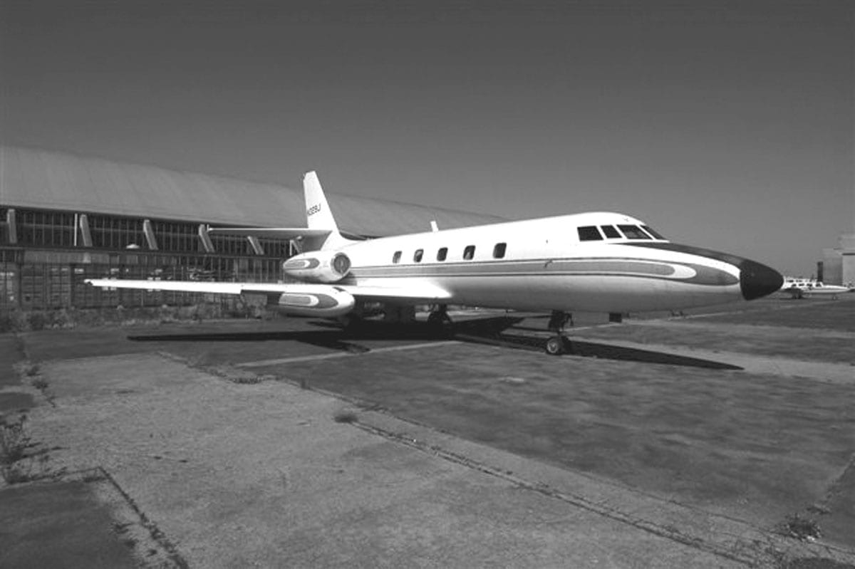 Lockheed JetStar at Museum of Flight