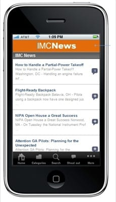 IMC Clubs releases iPhone app