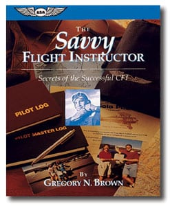 'The Savvy Flight Instructor' for Kindle