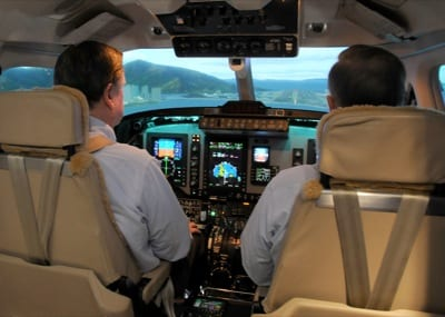 King Air 350 Pro Line 21 sim approved