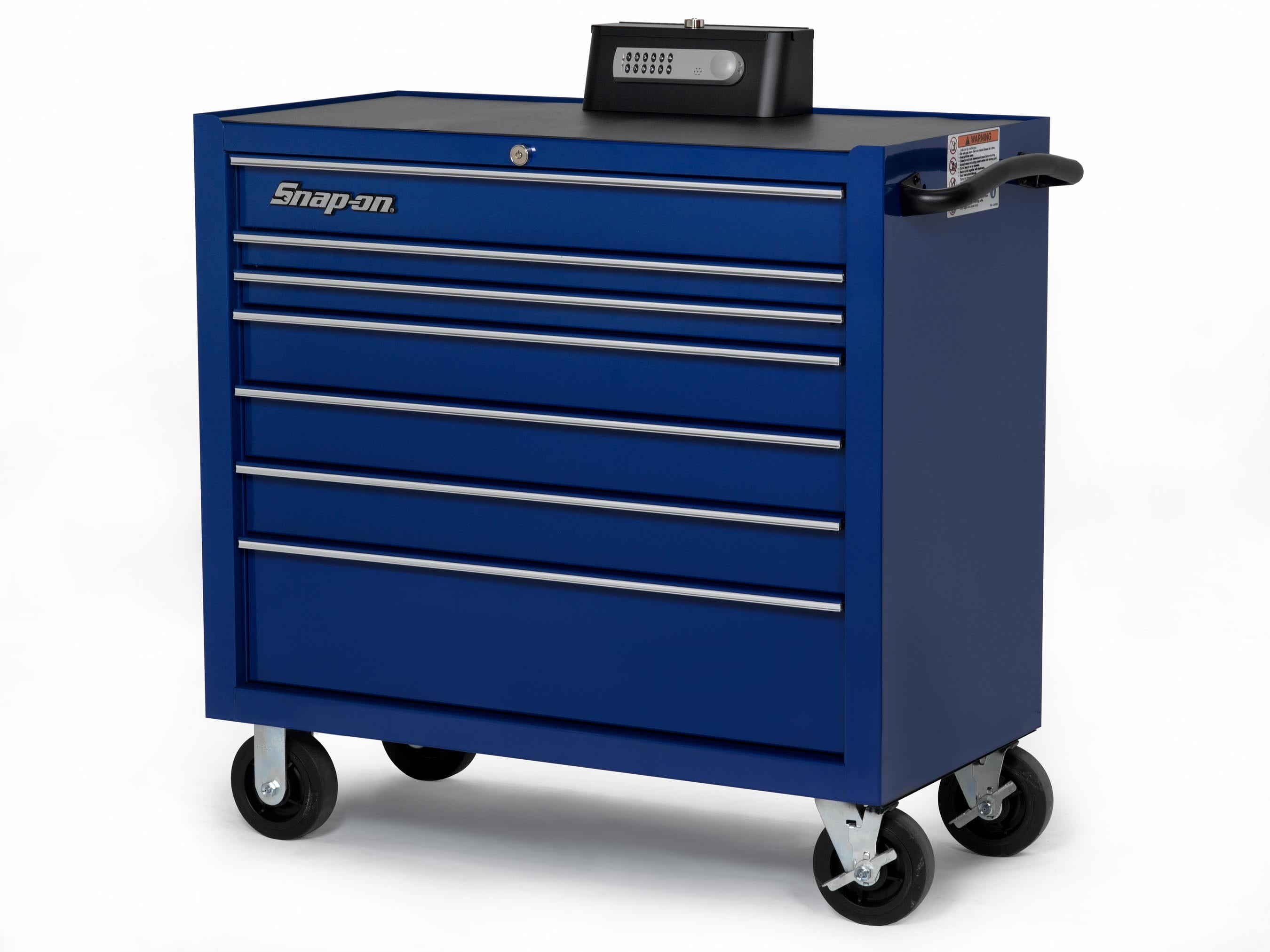 Snap-On debuts secure toolbox