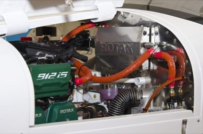 Rotax launches new 912 iS fuel-injected engine