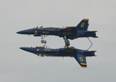 Blue Angels, F-22 featured in Wings Over Houston