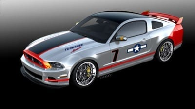 Red Tails Ford Mustang ready for auction