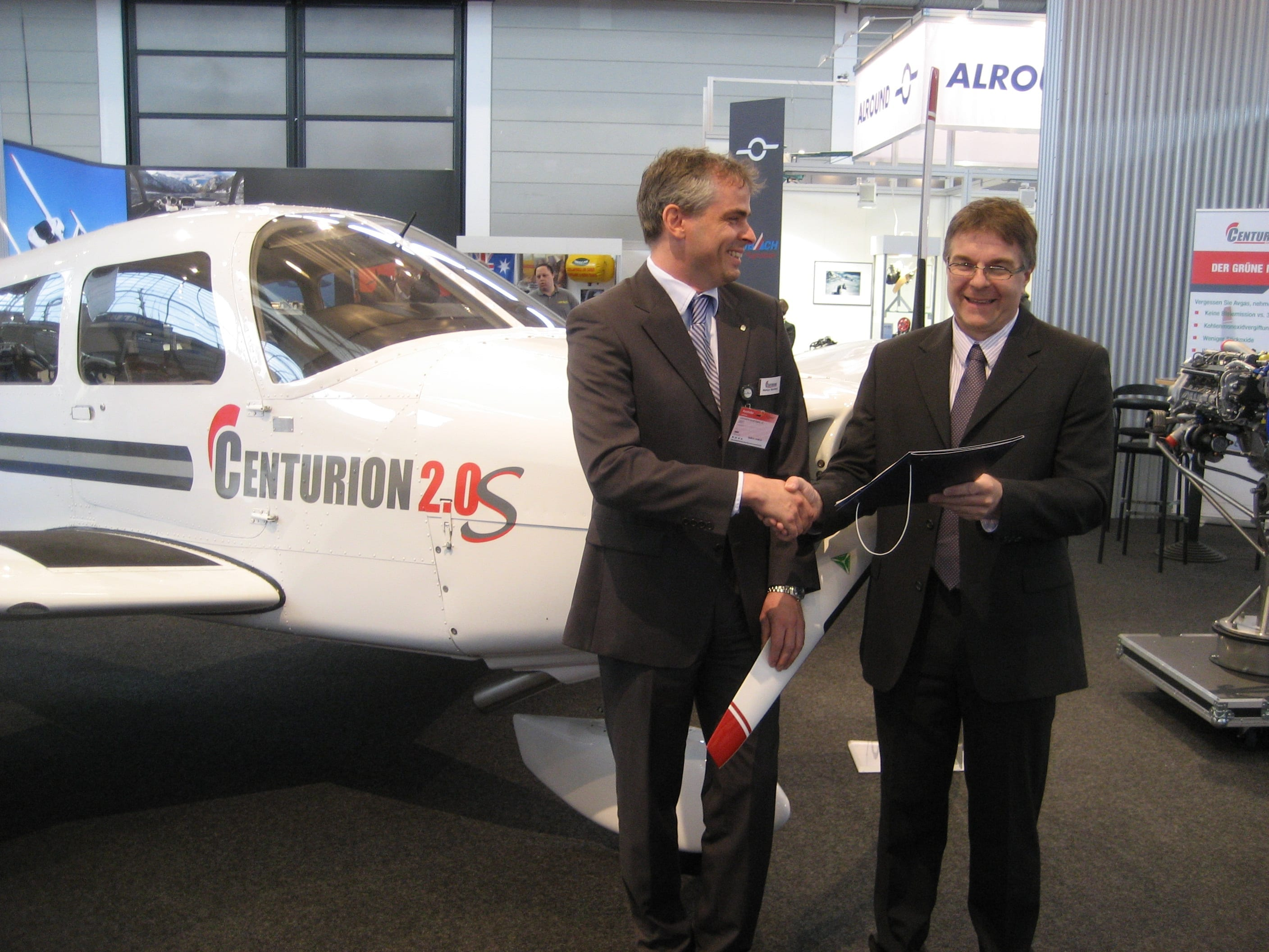 Centurion certified for Piper PA28