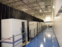 SimCom simulator bay at DFW