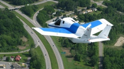 Flying car maker seeks exemptions for weight, stall speed