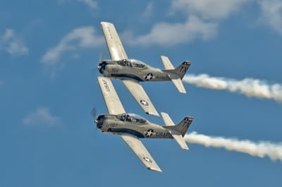 Trojan Phylers at Air Power Expo