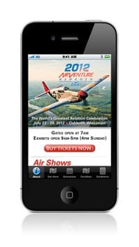 Sporty's releases free AirVenture app