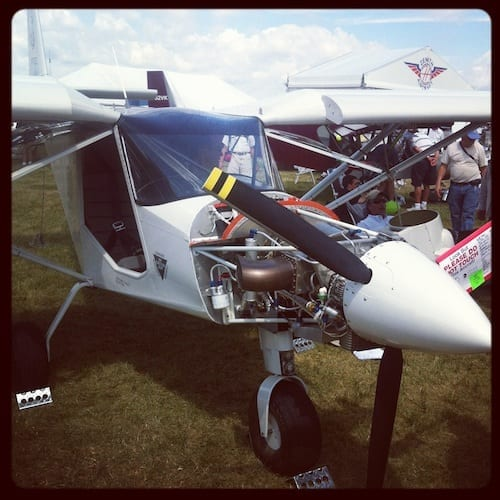 Turbine-powered Zenith CH 701 at AirVenture