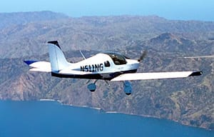 Flying the newest LSA: Sling