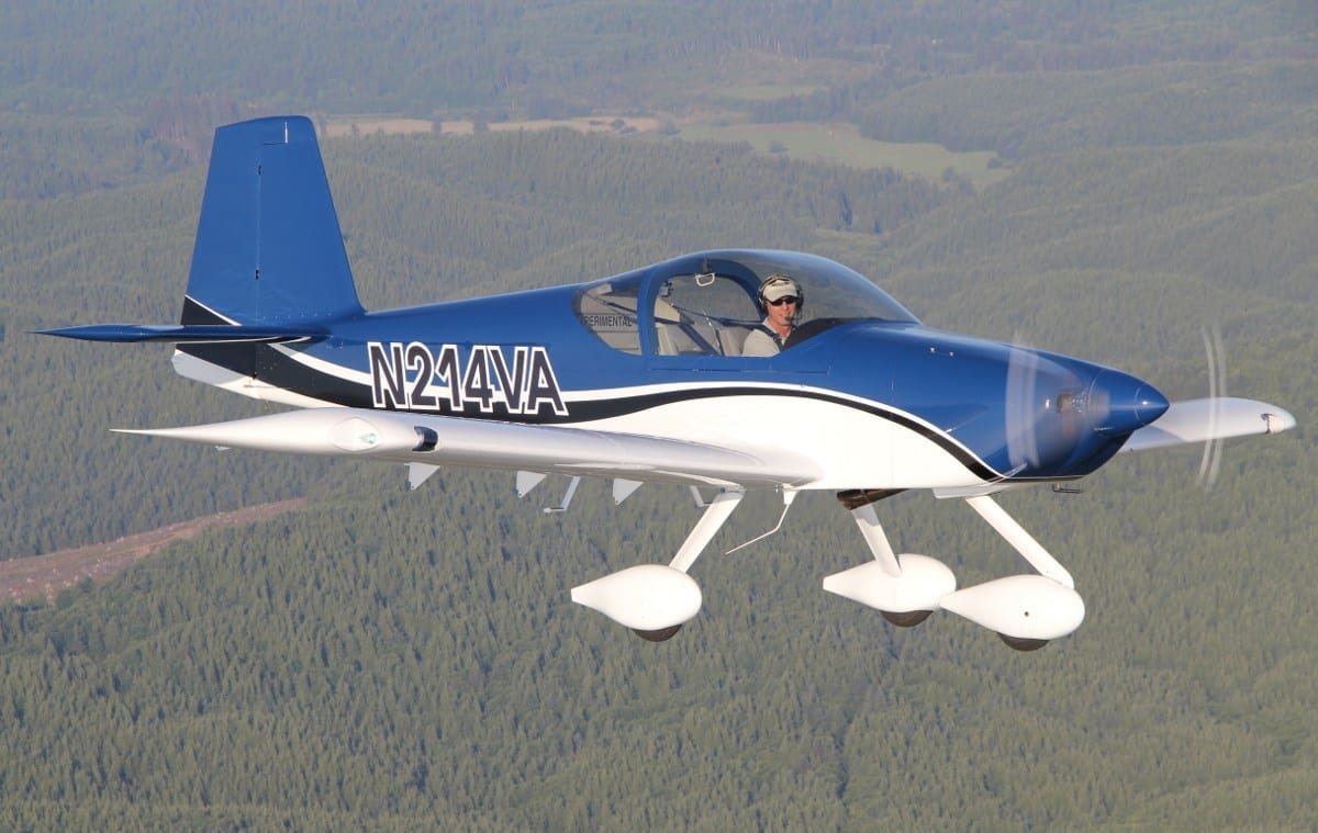 Van's introduces RV-14A
