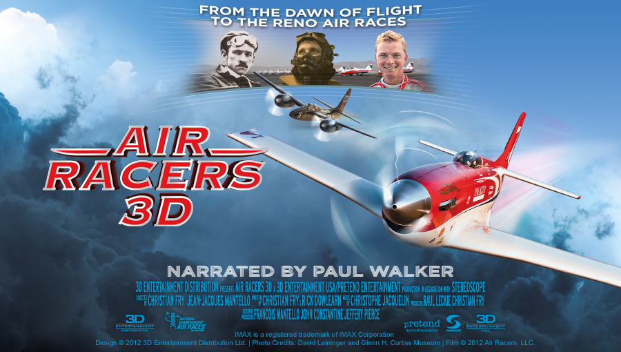 Air Racers 3D to fly high in Reno theaters
