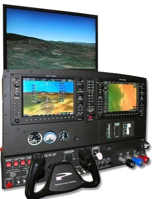 Precision Flight Controls debuts two training devices