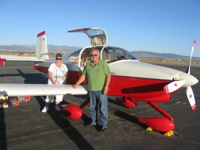 Flying coast to coast in a homebuilt