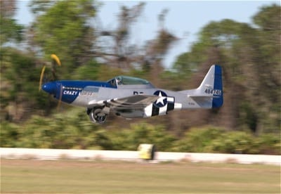 Ohio man wins flight in P-51