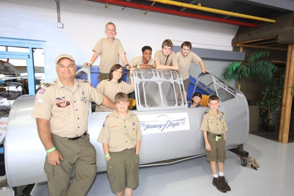Boy Scouts can earn American Heritage badge with help of real aviation experts