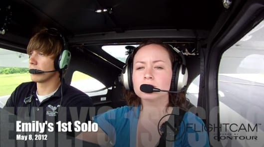 Get a free video of your first solo
