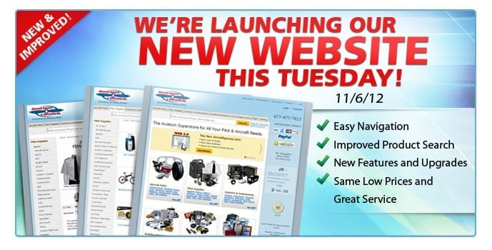 Aircraft Spruce launches new website