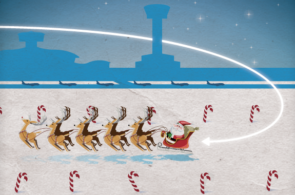 Santa One cleared for flight