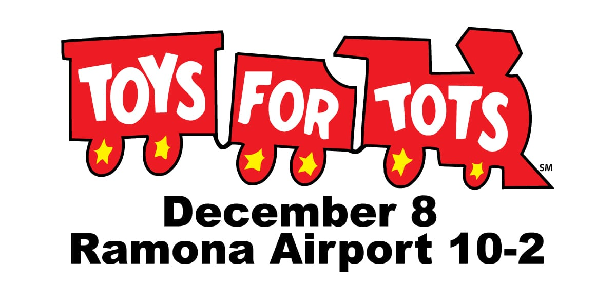 Toys For Tots Foundation : Toys for tots returns to ramona airport — general aviation