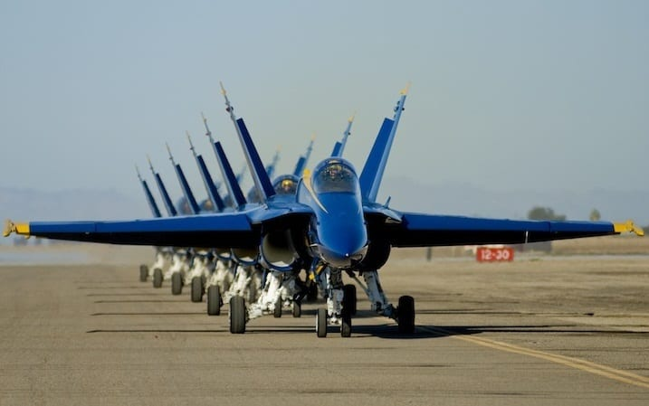 Blue Angels featured at Wings over Wayne Air Show