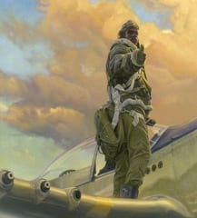 Museum to exhibit paintings celebrating Tuskegee Airmen