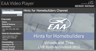 300th segment of EAA's Hints for Homebuilders posted