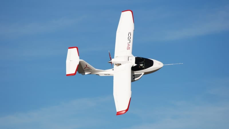 Production begins on ICON A5
