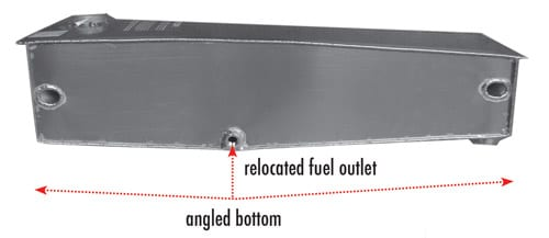 Taylorcraft Wing Fuel Tanks redesigned