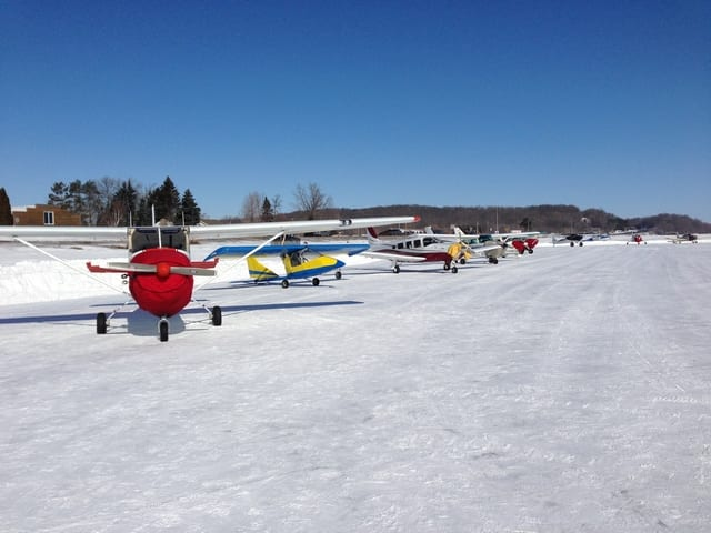 'Icekosh' Fly-In a success