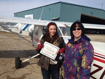 Kitson wins First-to-Solo challenge