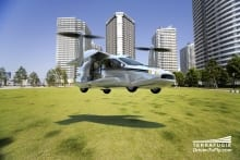 Flying car maker begins study of four-seater