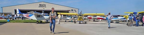 Zenith Open House and Fly-In this Saturday